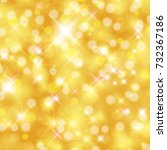 vector abstract twinkled bright ... | Shutterstock .eps vector #732367186