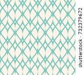 vintage seamless pattern  thin... | Shutterstock .eps vector #732379672