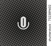 microphone flat icon.