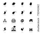 icon set  social networks  | Shutterstock .eps vector #73241062