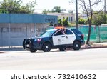 los angeles  usa   august 22 ... | Shutterstock . vector #732410632