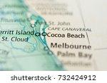 cocoa beach  florida.   Shutterstock . vector #732424912