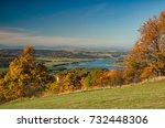 slezska harta dam in the autumn ... | Shutterstock . vector #732448306