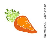 carrots icon | Shutterstock .eps vector #732454612