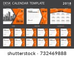calendar 2019  desk calendar... | Shutterstock .eps vector #732469888