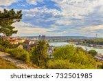 karadjordjeva street and... | Shutterstock . vector #732501985
