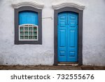 A Blue Window And A Blue Door...