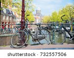 amsterdam  netherlands   april... | Shutterstock . vector #732557506