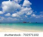 nang yuan island  | Shutterstock . vector #732571102