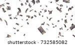 turkish 500000 lira banknote ... | Shutterstock . vector #732585082