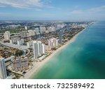 miami beach | Shutterstock . vector #732589492
