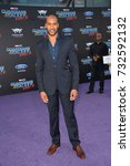 """Small photo of LOS ANGELES, CA - April 19, 2017: Henry Simmons at the world premiere for """"Guardians of the Galaxy Vol. 2"""" at the Dolby Theatre, Hollywood."""