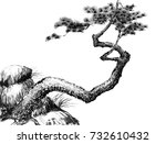 chinese traditional... | Shutterstock . vector #732610432