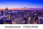 night cityscape   Shutterstock . vector #732614446