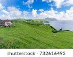 mahatao hilll at batan island   ... | Shutterstock . vector #732616492