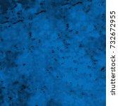 texture of blue. grunge... | Shutterstock . vector #732672955