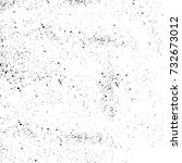 grunge texture black and white. ... | Shutterstock . vector #732673012