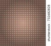 vector seamless rhombus and... | Shutterstock .eps vector #732682828