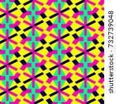 seamless mosaic pattern.... | Shutterstock .eps vector #732739048