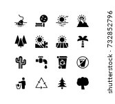 various icons representing...   Shutterstock .eps vector #732852796