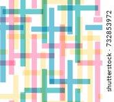 christianity seamless pattern.... | Shutterstock .eps vector #732853972