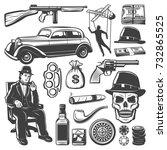 Vintage Gangster Elements...