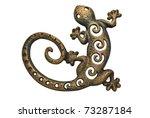 forging salamander | Shutterstock . vector #73287184