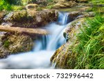waterfall gostilje on zlatibor   Shutterstock . vector #732996442