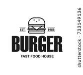fast food restaurant  cafe... | Shutterstock .eps vector #733149136