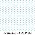 Vector Polka Dot.  Light Blue...