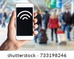 hotspot. | Shutterstock . vector #733198246