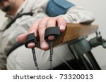 placing equipment for... | Shutterstock . vector #73320013