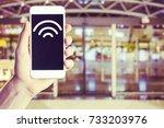 hotspot. | Shutterstock . vector #733203976