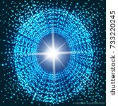 swiftness and infinity....   Shutterstock .eps vector #733220245