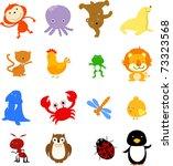 animal | Shutterstock .eps vector #73323568