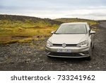 reykjavik  iceland   october 10 ... | Shutterstock . vector #733241962