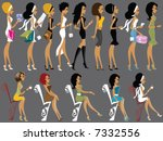 mss boo collection | Shutterstock . vector #7332556