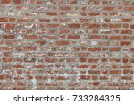 Abstract Red White Stonewall...