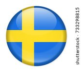 Sweden Flag Vector Round Icon   ...