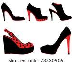 shoes | Shutterstock .eps vector #73330906