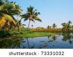 houseboat tour through the... | Shutterstock . vector #73331032