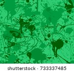 seamless paint splatter pattern ...