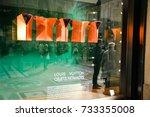milan  italy   september 24 ...   Shutterstock . vector #733355008