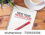business concept   top view... | Shutterstock . vector #733424206