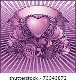 vintage purple background ...