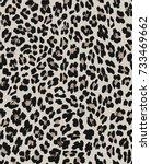 seamless pattern animal design. ... | Shutterstock .eps vector #733469662
