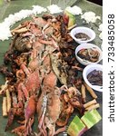 Small photo of Boodle fight at home