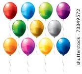 balloons | Shutterstock .eps vector #73349572
