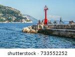 dubrovnik  croatia   august 26  ... | Shutterstock . vector #733552252