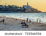 tel aviv  israel   october 21 ... | Shutterstock . vector #733566556